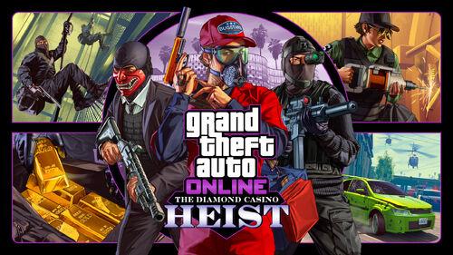 GTA Online Golpe del Casino