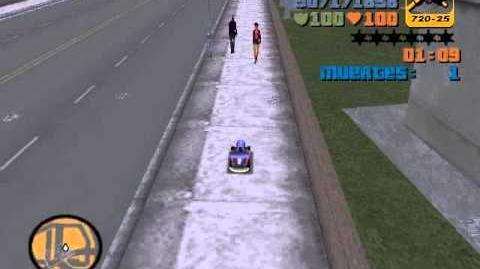 Grand Theft Auto III - Mision TOYZ - Ataque Rumpo