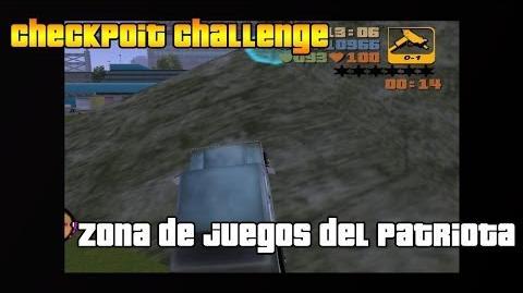 """GTA 3 Checkpoint chllenge """"Lugar de juegos del patriota"""""""