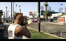 Franklin y el coche Balla