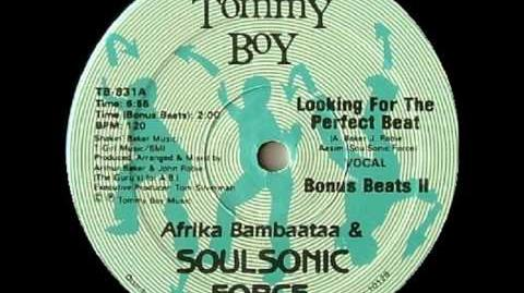 Afrika Bambaataa & The Soul Sonic Force - Looking For The Perfect Beat (1983)