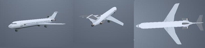 Avion Vice City GGMM Curioso