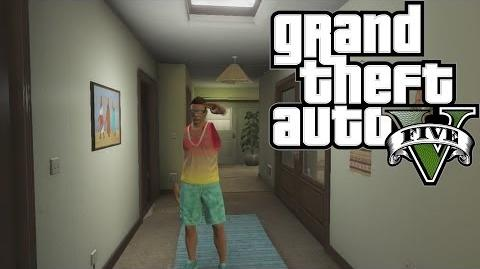 Gta 5 Online - How To Get Into Franklin's Old House!
