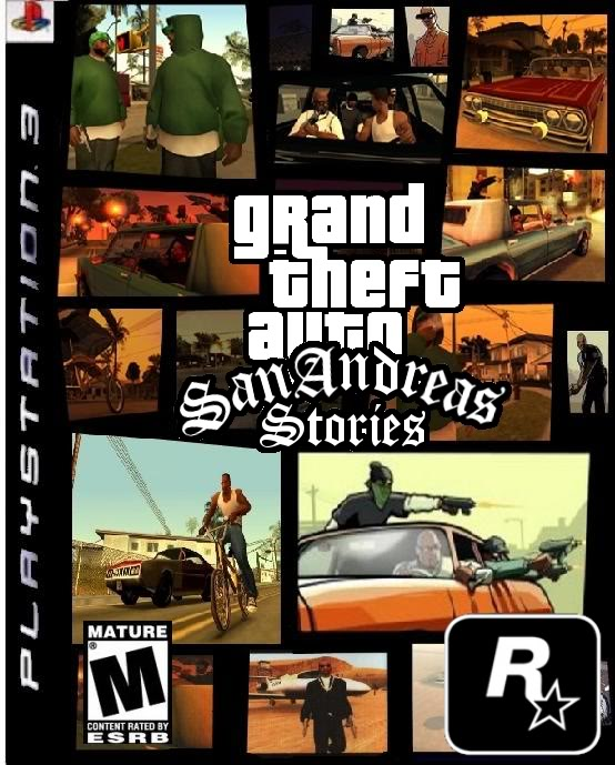 Imagen Portada De Gta San Andreas Stories Png Grand