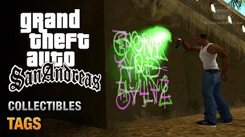 GTA San Andreas - 100 graffitis
