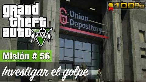 "Grand Theft Auto V - ""Investigar el golpe"""