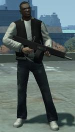 Escopeta munición explosiva TBOGT