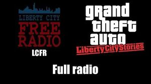 GTA Liberty City Stories - LCFR Full radio