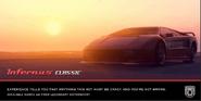 Infernus Classic anuncio