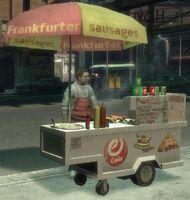 Puesto de comida rápida GTA IV