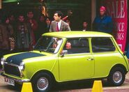 Mini Cooper de mr bean