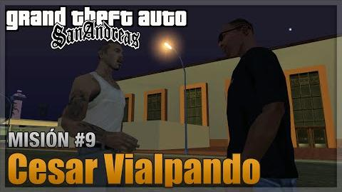 GTA San Andreas - Misión 9 - Cesar Vialpando (Español - 1080p 60fps)