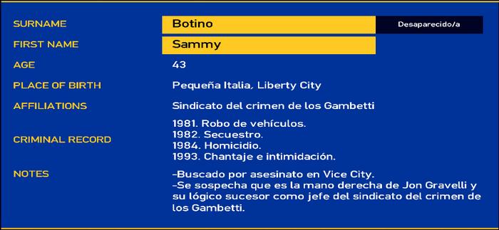 Sammy botino LCPD
