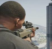 Franklin fusil de francotirador pesado