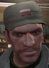 Gorra militar GTA IV