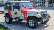 Jeep Wrangler Jurrasic Park