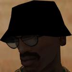 Gorro Negro de ZIP