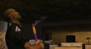 CJ entrando en el Motel