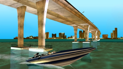 Vista del Links Bridge en VCS