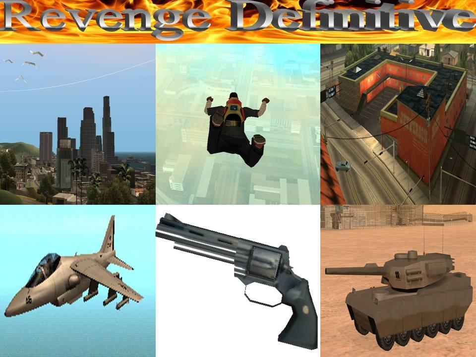 Portada de Revenge Definitive