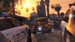 GTA Online Golpe en Vespucci VII