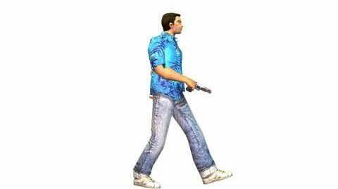 GTA Vice City - The Lab - Walking Animation