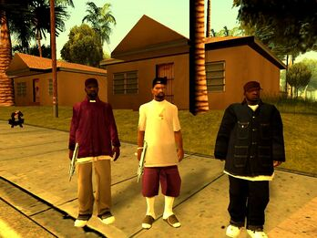 GTA San Andreas Beta Ballas The Introduction