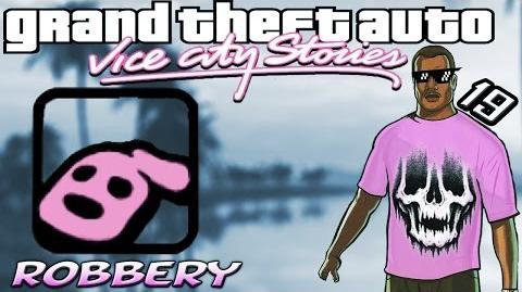 GTA VCS 19 Robbery 100% Walkthrough