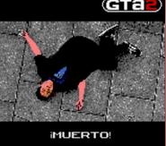 Muerto GTA 2 GBC