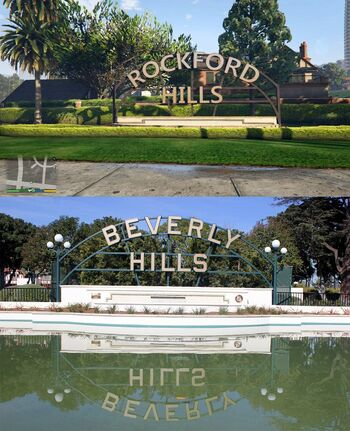 Beverly Hills Rockford Hills Comparision
