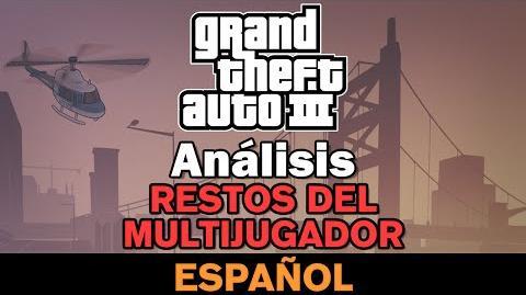 GTA III - Restos del Multijugador Análisis-0