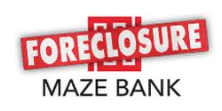 MazeBankForeclosures Logo
