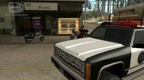 GTA San Andreas - Walkthrough - Mission 34 - Made In Heaven Small Town Bank (HD)