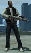 Rifle de francotirador avanzado TBOGT