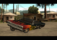 Savana modificado en Grove Street