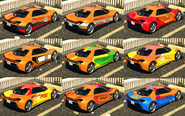 Itali GTB Custom GTA O Pinturas atrás