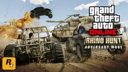 """GTA Online - Modo Adversario """"Caza de Rhinos""""1"""