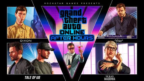 GTA Online After Hours Artwork