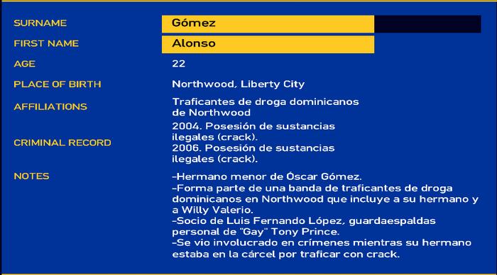 Alonso gomez