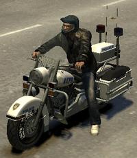 Police Bike TBOGT