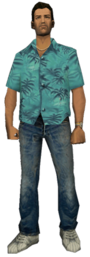 Tommy Vercetti from GTA Vice City