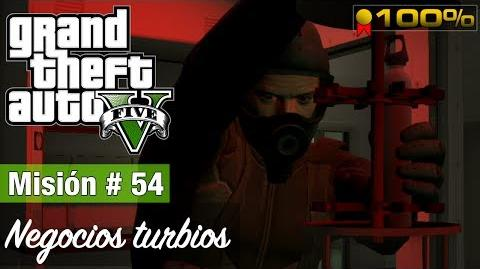 "Grand Theft Auto V - ""Negocios turbios"""