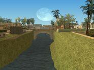 Vista del canal de lossantos
