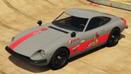 190z Jackal Racing rojo