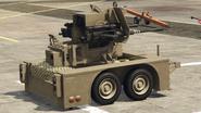Remolque anti aéreo-GTA online-atrás con el cañón antiaéreo dual 20mm