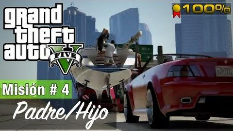 "Grand Theft Auto V - ""Padre Hijo"""