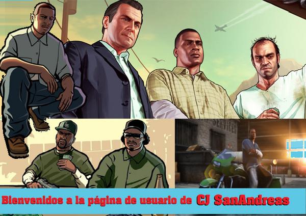 Banner página de usuario de CJ SanAndreas