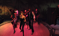 Baile en línea en el Maisonette-GTA TBOGT