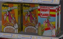 Cajas de cereal cok o pops