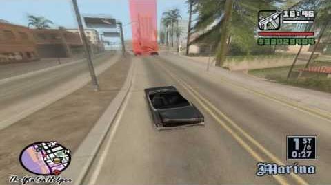 Grand Theft Auto San Andreas Lowrider Race